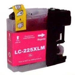Brother LC225XLM - kompatibilní - Magenta velkoobjemová na 1200 stran