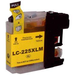 Brother LC225XLY - kompatibilní - Yellow velkoobjemová na 1200 stran