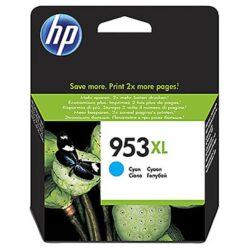 HP F6U16AE (953XL) - originální - Cyan velkoobjemová na 1600 stran