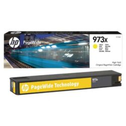 HP F6T83A YE (no.973X) pro PW477/577, 7k yellow