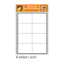 SK LABEL 105x74      (1 list) Etikety