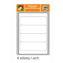 SK LABEL 192x61      (1 list) Etikety