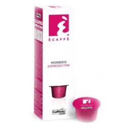 Kapsle Caffitaly jemné espresso Ecaffé Morbido 10 ks