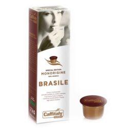 Kapsle Caffitaly s brazilskou kávou Ecaffé Brasile Monorigine Spec.Edition 10 ks