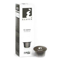 Kapsle Caffitaly černý čaj Ecaffé TÉ NERO 10 ks