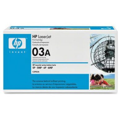 HP C3903A (03A) - originální - Černá na 4000 stran(011-00090)