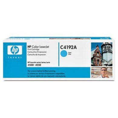 HP C4192A - originální - Cyan na 6000 stran(011-00328)