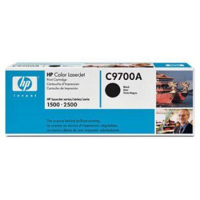 HP C9700A (121A) - originální - Černá na 5000 stran(011-00740)