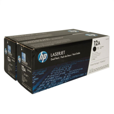 HP Q2612AD (12A) - originální - Černá - Sada multipack na 4000 stran(011-00971)