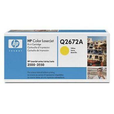HP Q2672A (309A) - originální - Yellow na 4000 stran(011-01062)