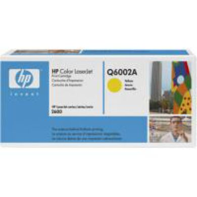 HP Q6002A (124A) - originální - Yellow na 2000 stran(011-01292)