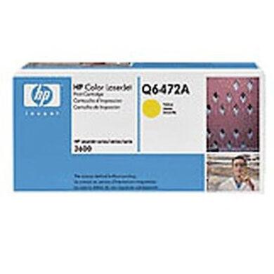 HP Q6472A (502A) - originální - Yellow na 4000 stran(011-01422)