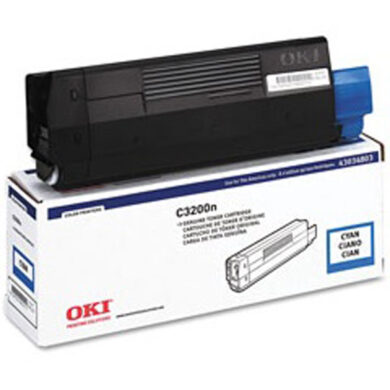 OKI 43034807 (toner-C-C3200) - originální - Cyan na 1500 stran(011-01445)