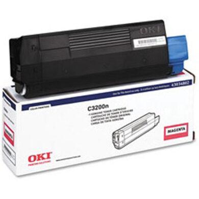 OKI 43034806 (toner-M-C3200) - originální - Magenta na 1500 stran(011-01446)