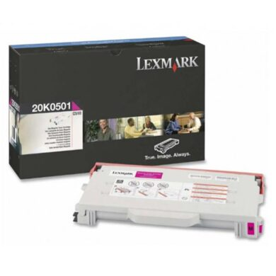 Lexmark 20K0501 - originální - Magenta na 3000 stran(011-01502)