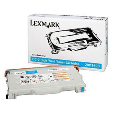 Lexmark 20K1400 - originální - Cyan velkoobjemová na 6600 stran(011-01506)