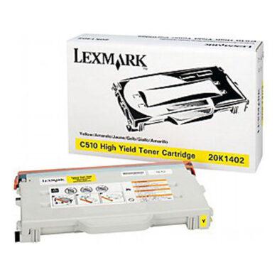 Lexmark 20K1402 - originální - Yellow velkoobjemová na 6600 stran(011-01508)