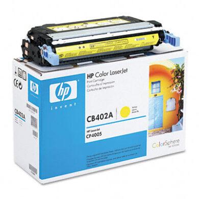 HP CB402A (642A) - originální - Yellow na 7500 stran(011-01862)