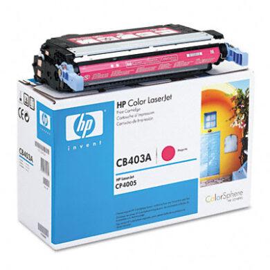 HP CB403A (642A) - originální - Magenta na 7500 stran(011-01863)