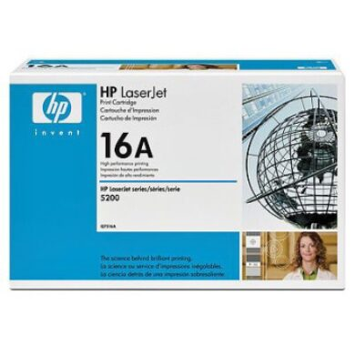 HP Q7516A (16A) - originální - Černá na 12000 stran(011-02040)