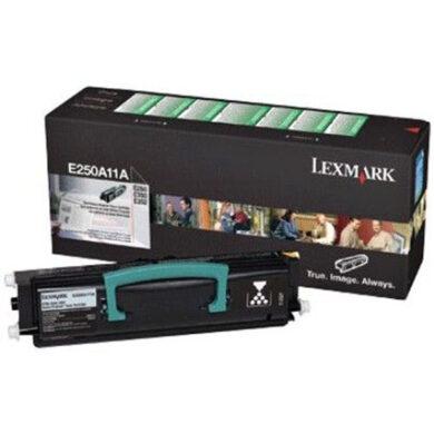 Lexmark E250A11E RETURN - originální - Černá na 3500 stran(011-02080)