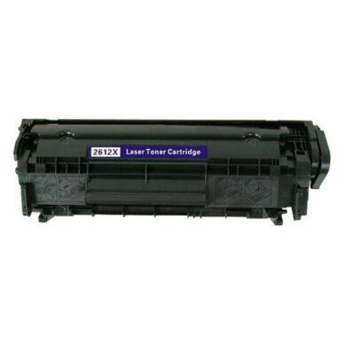 HP Q2612X (12X) - kompatibilní - Černá na 3000 stran (Canon FX9/FX10/CRG703)(011-02125)