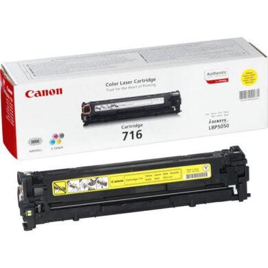 Canon Cartridge 716 Ye - originální - Yellow(011-02373)