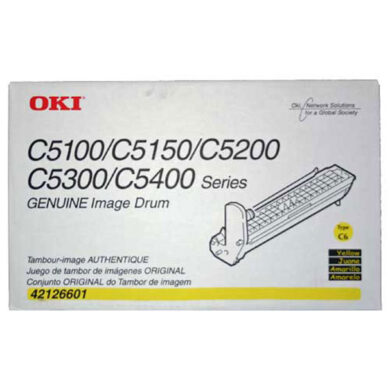OKI 42126605 (EP-CART-Y-C5100) - originální - Fotojednotka YE na 17000 stran(011-02418)