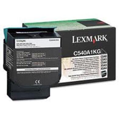 Lexmark C540A1KG RETURN - originální - Černá na 1000 stran(011-02840)
