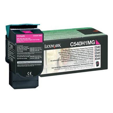 Lexmark C540A1MG RETURN - originální - Magenta na 1000 stran(011-02842)