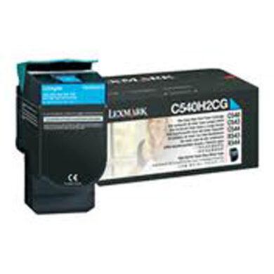 Lexmark C540H1CG RETURN - originální - Cyan velkoobjemová na 2000 stran(011-02846)