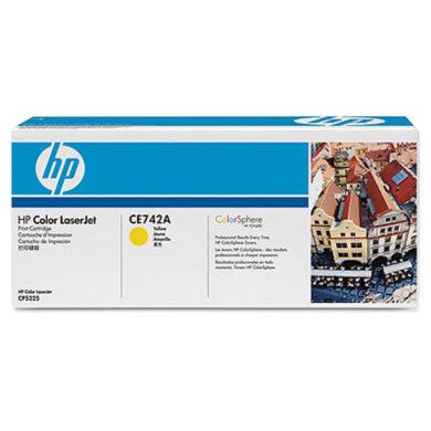HP CE742A (307A) - originální - Yellow na 7300 stran(011-02892)