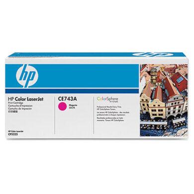 HP CE743A (307A) - originální - Magenta na 7300 stran(011-02893)