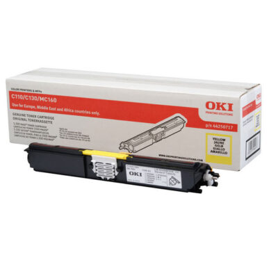 OKI 44250721 (toner-Y-HC-C110/130/MC160) - originální - Yellow HC na 2500 stran(011-02933)