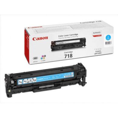 Canon Cartridge 718 Cy - originální - Cyan na 2900 stran(011-03081)