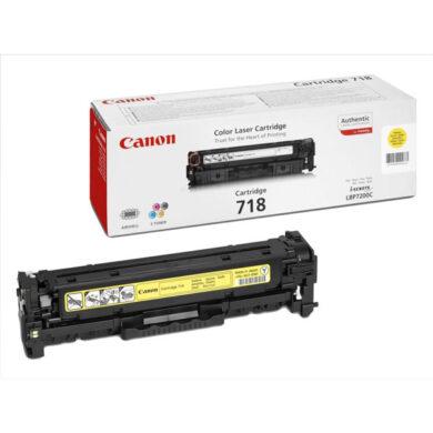Canon Cartridge 718 Ye - originální - Yellow na 2900 stran(011-03083)