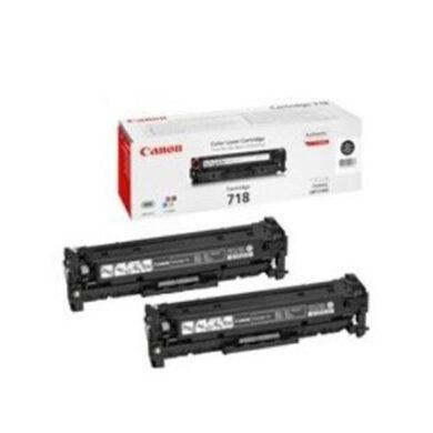 Canon Cartridge 718 B2-pack - originální - Černá - Sada multipack na 3400 stran(011-03085)