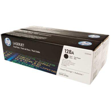 HP CE320AD (128A) - originální - Černá - Sada multipack na 4000 stran(011-03095)
