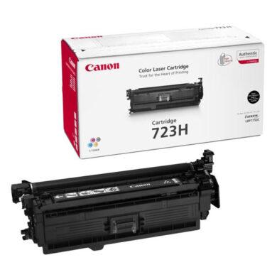 Canon Cartridge 723H Bk  - originální - Černá velkoobjemová na 10000 stran(011-03124)