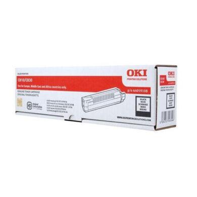 OKI 44059108 (toner-K-C810) - originální - Černá na 8000 stran(011-03160)