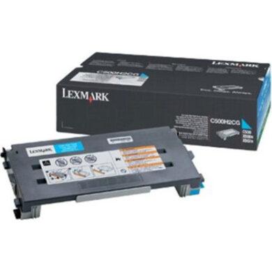 Lexmark C500H2CG - originální - Cyan velkoobjemová na 3000 stran(011-03251)