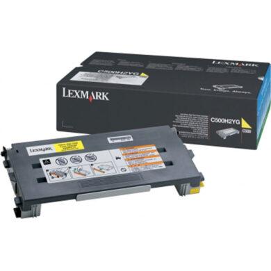 Lexmark C500H2YG - originální - Yellow velkoobjemová na 3000 stran(011-03253)