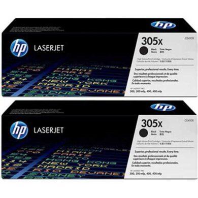 HP CE410XD (305X) - originální - Černá - Sada multipack na 8000 stran(011-03589)
