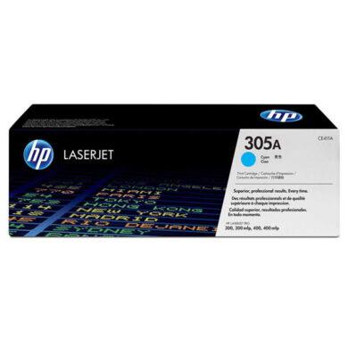 HP CE411A (305A) - originální - Cyan na 2600 stran(011-03592)