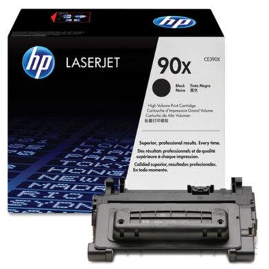 HP CE390X (90X) - originální - Černá velkoobjemová na 24000 stran(011-03621)