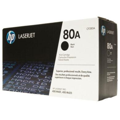 HP CF280A (80A) - originální - Černá na 2700 stran(011-03630)