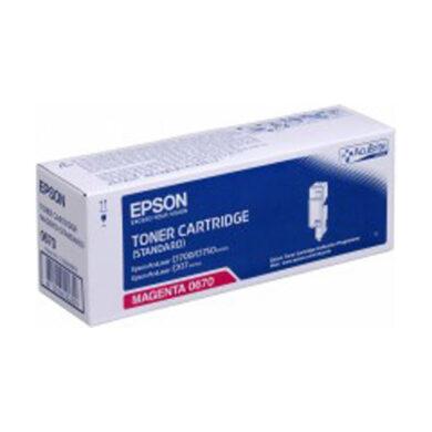 Epson S050670 MA toner pro C1700/CX17 700s.(011-03662)