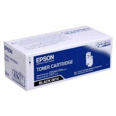 Epson S050614 BK toner pro C1700/CX17, 2K(011-03665)