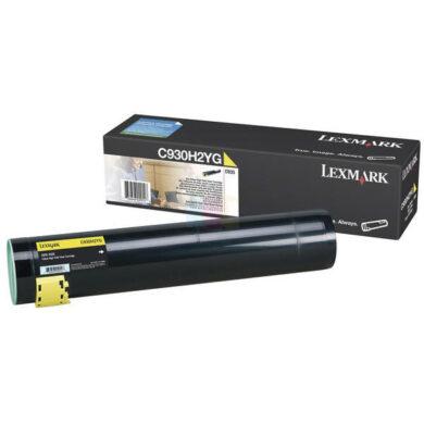 Lexmark C930H2YG - originální - Yellow velkoobjemová na 24000 stran(011-03743)
