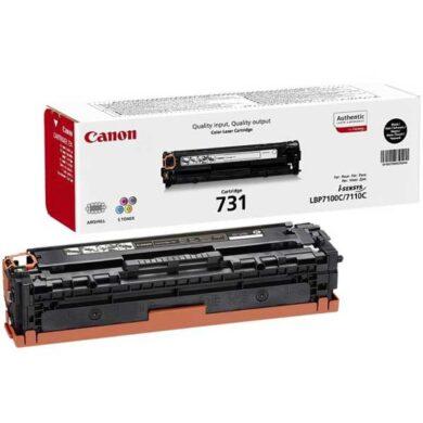 Canon Cartridge 731 Bk - originální - Černá na 1400 stran(011-03910)